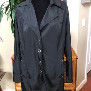 Black Style and Co Car Coat